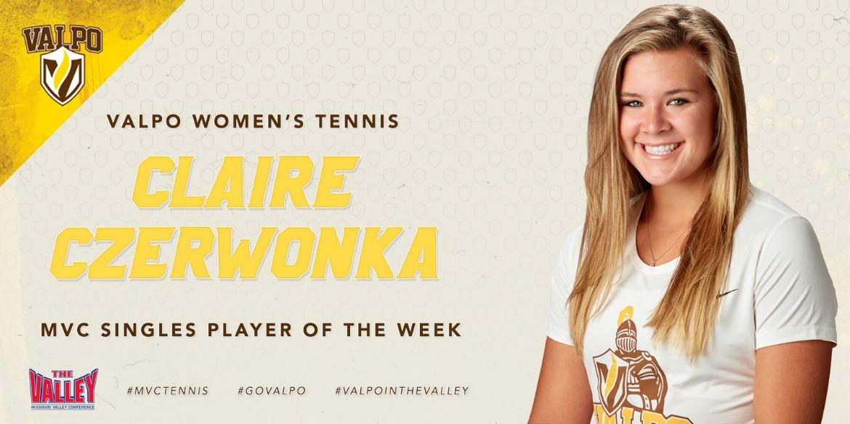 Czerwonka Anointed MVC Singles Player of the Week