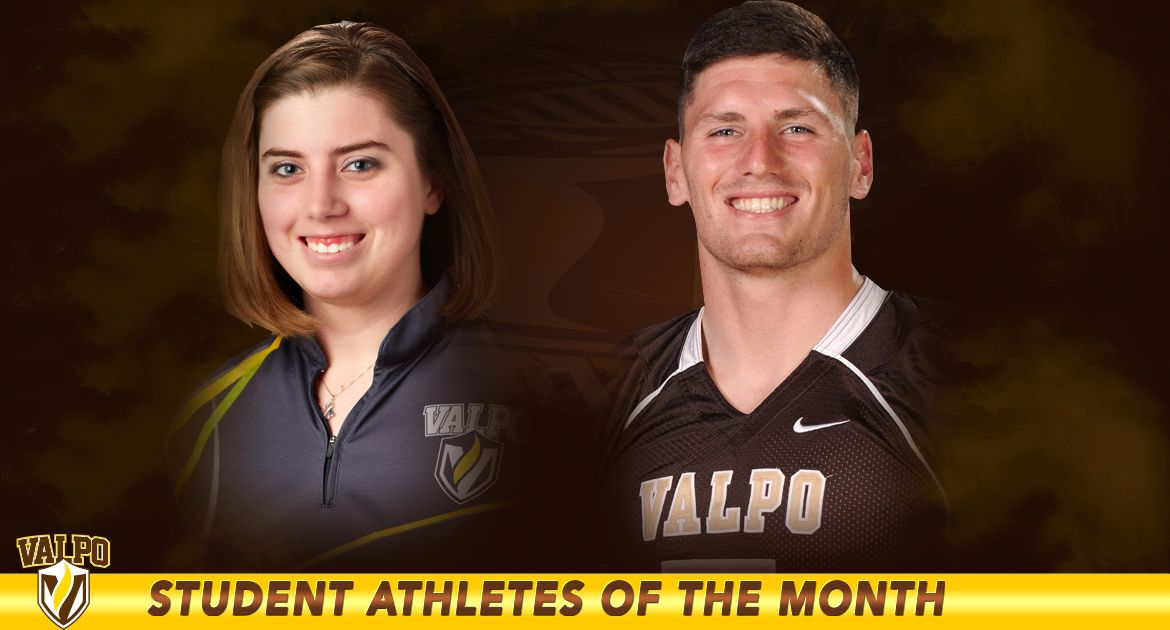 Green, Decker Named Athletes of the Month