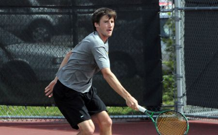 Men's Tennis Season Ends with Loss to Wright State