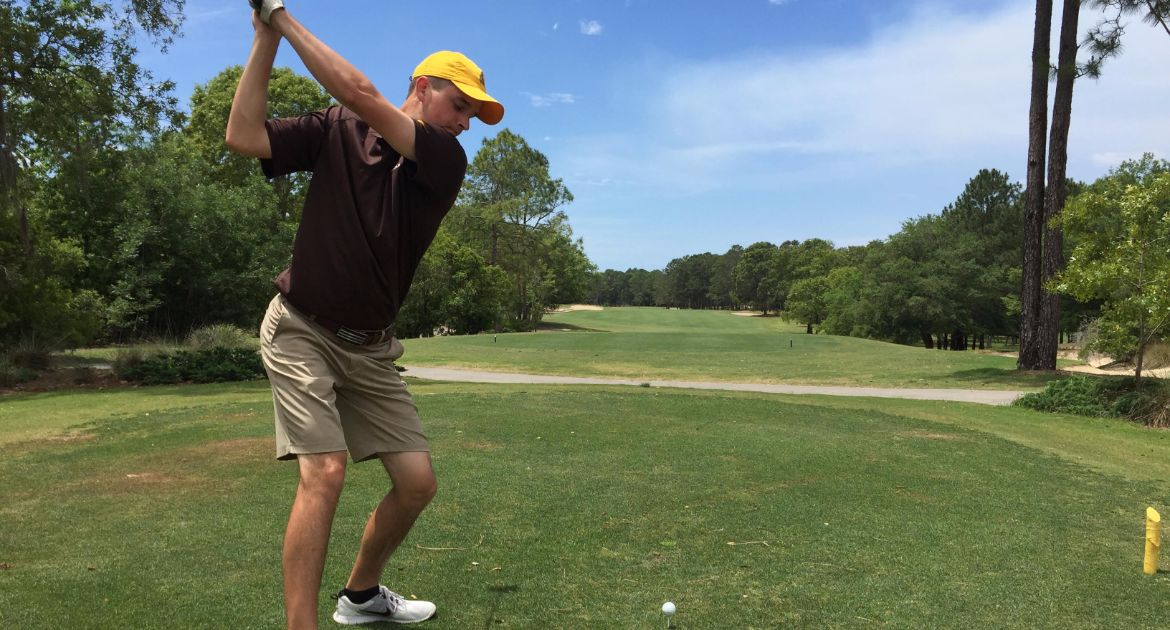 Men's Golf Second After Opening Day of Crusader Collegiate