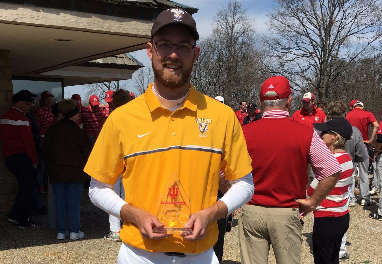 Webb Takes Medalist Honors at Hoosier Invitational
