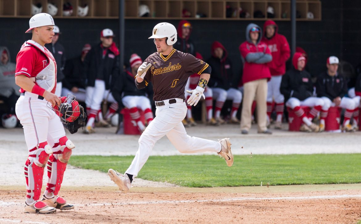 Doubleheader Split a Tale of Two Games for Valpo Baseball