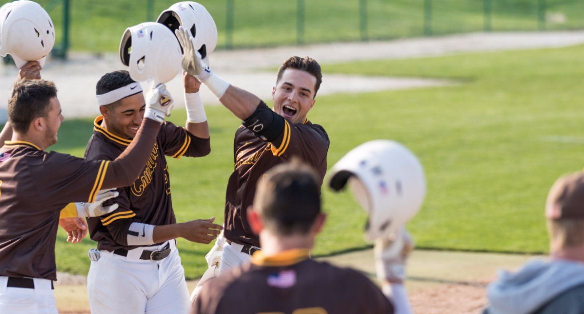Crusaders Sweep Critical Doubleheader from Panthers