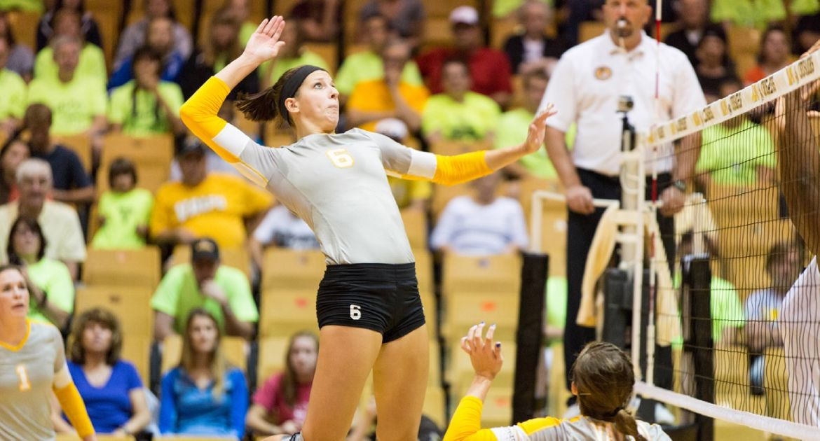Volleyball Returns Home For Pair of League Matches