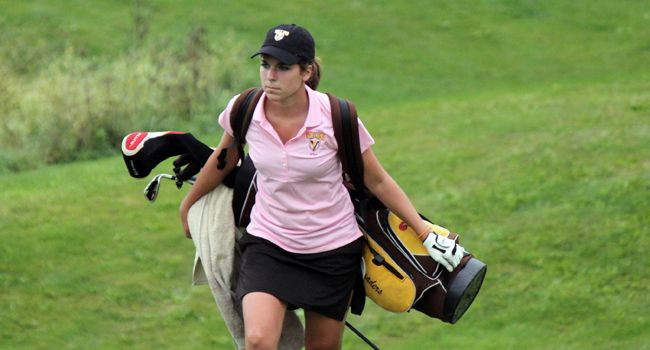 Valpo Women Move Up to Third at HL Championship