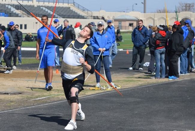 Throwers Trio Competes at Gregory Invitational