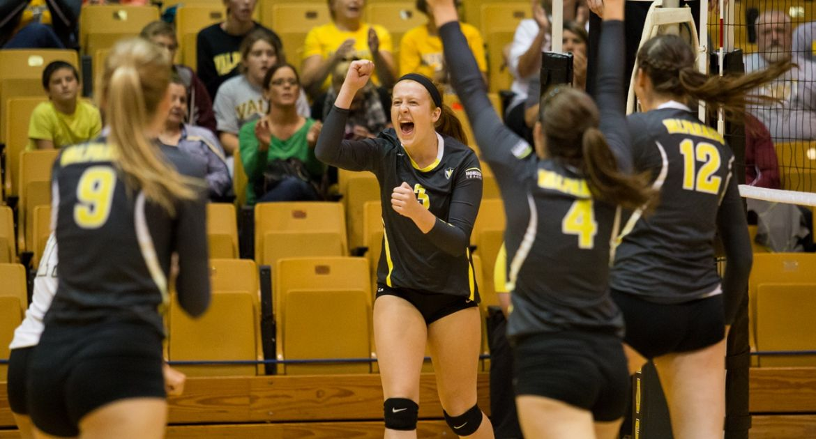 Individual, Team Milestones Reached As Volleyball Sweeps Pair