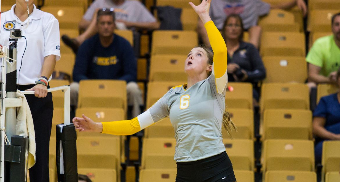 Volleyball Falls in League Opener