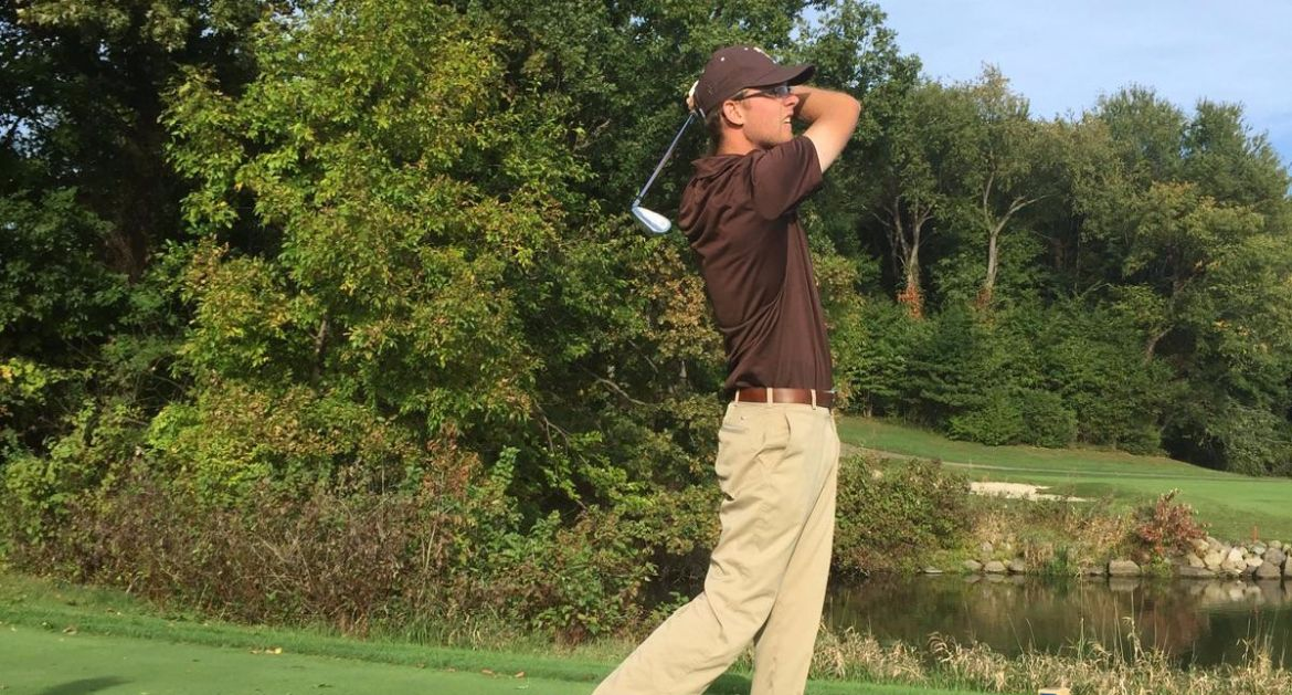 Crusader Men's Golf Battles Cold in Dayton