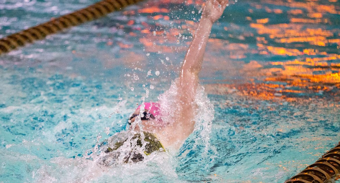Pair of Record-Setting Performances Highlight Another Strong Day For Valpo Swimming