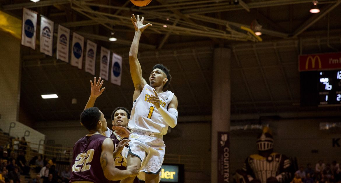 Men's Basketball Rolls to Exhibition Victory