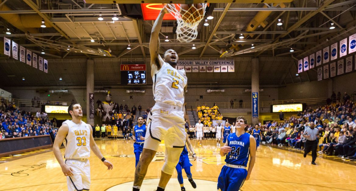 Men's Basketball Takes Down Indiana State Wednesday