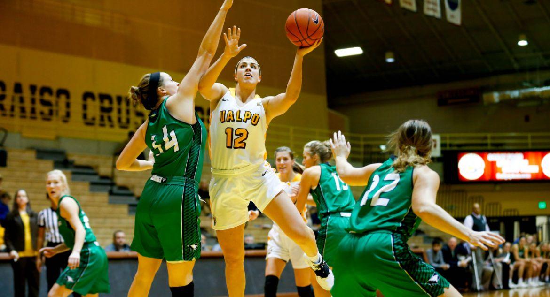 Women's Basketball Edged by North Dakota in Home Opener