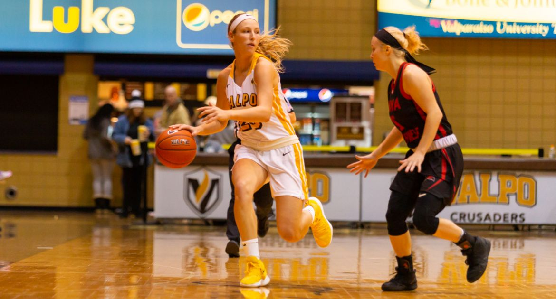 Women's Basketball Falls at Loyola in MVC Opener
