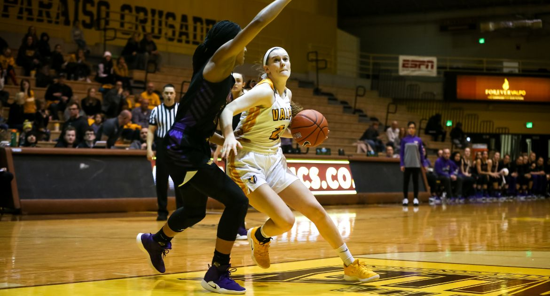 UNI Edges Valpo in Women's Basketball