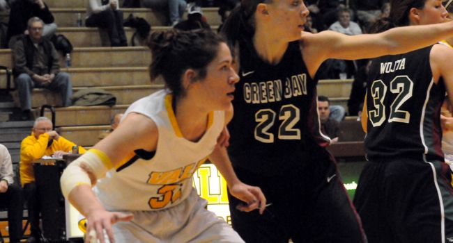 #12/9 Green Bay Downs Valpo to Close First Half