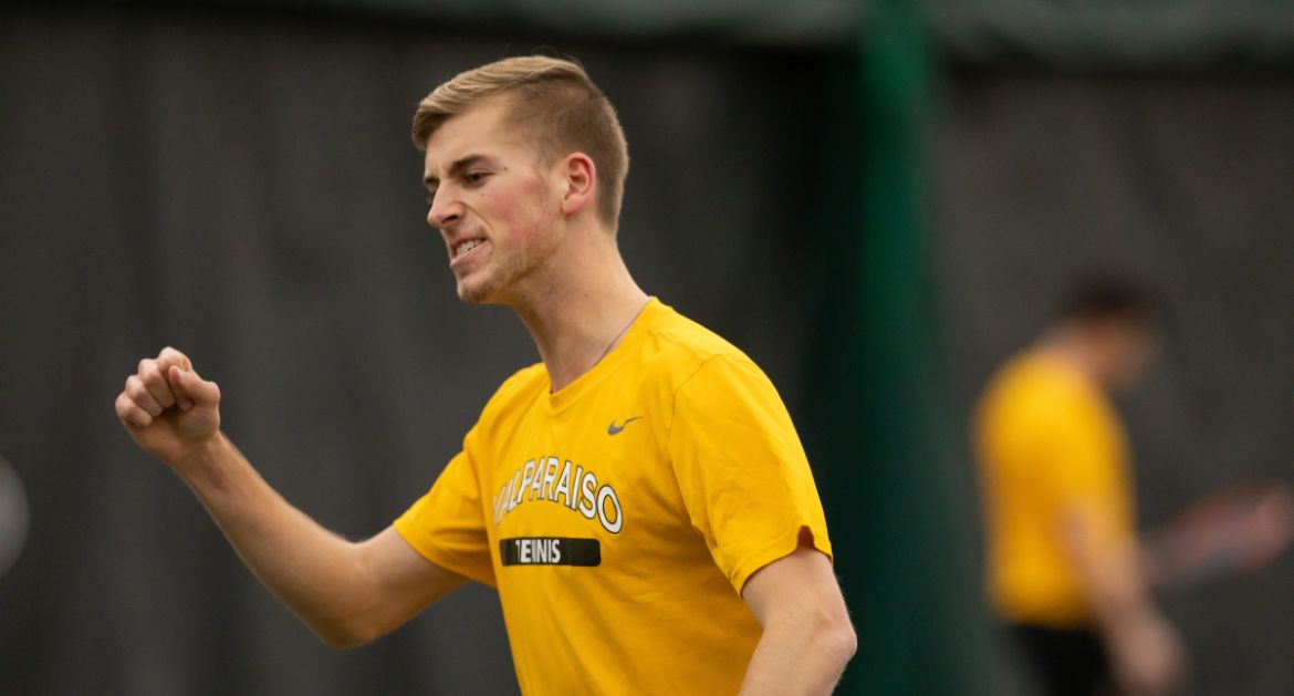 Men's Tennis Tops Rival Butler, Runs Winning Streak to Five