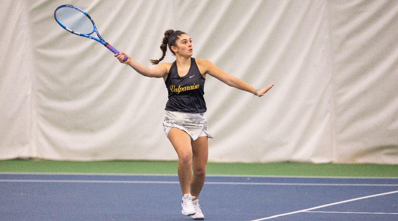 Valpo Women's Tennis Captures Noteworthy Win at NIU