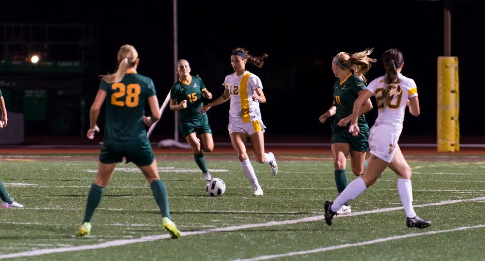 Women's Soccer Battles to 1-1 Draw With Wright State