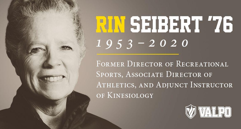 Valpo Athletics Mourns the Passing of Rin Seibert