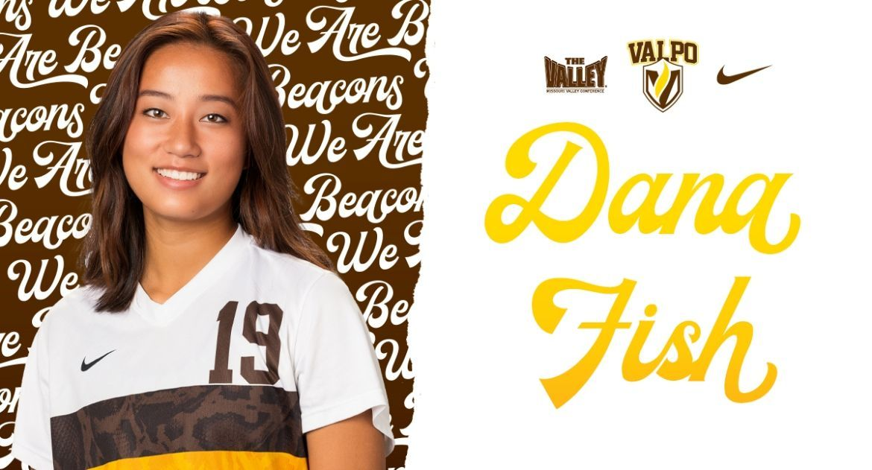 Dana Fish Named MVC Freshman of the Week