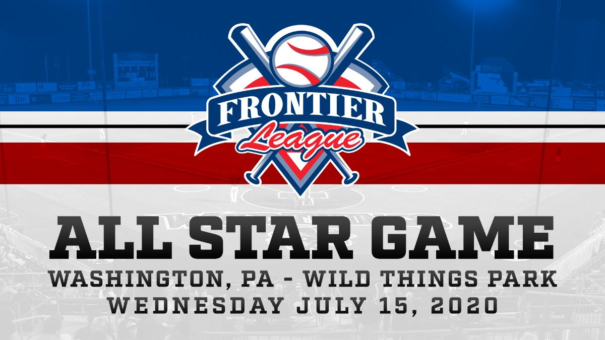 Frontier League Awards 2020 All Star Game to Washington, PA