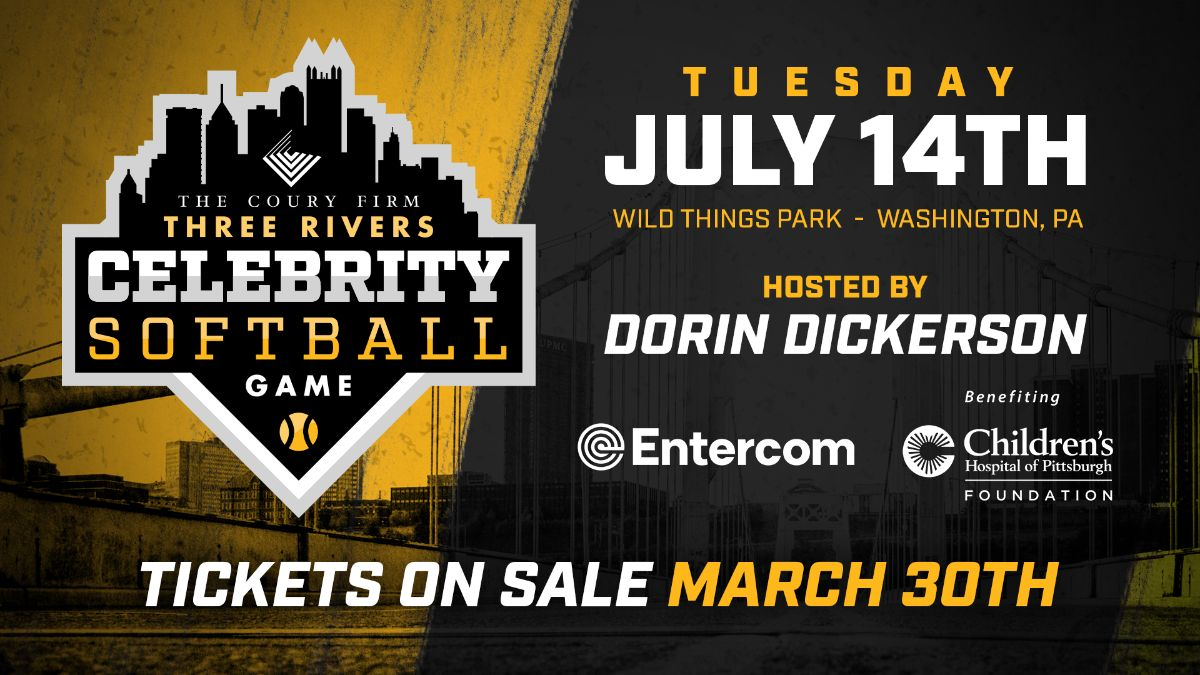 Three Rivers Celebrity Softball Game Announced