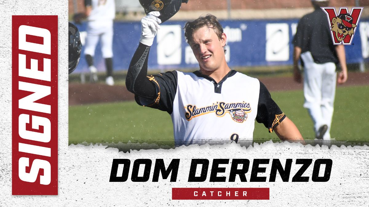Catcher Dom DeRenzo Signs With Wild Things for 2021