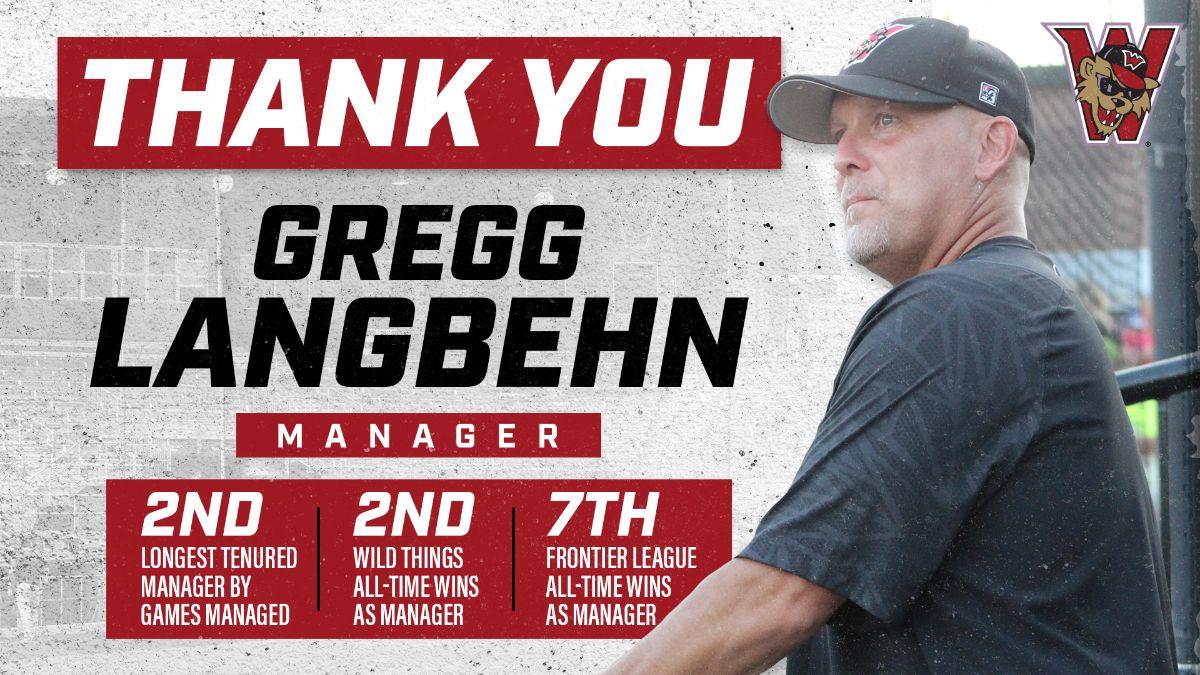 Wild Things Manager Gregg Langbehn Retires