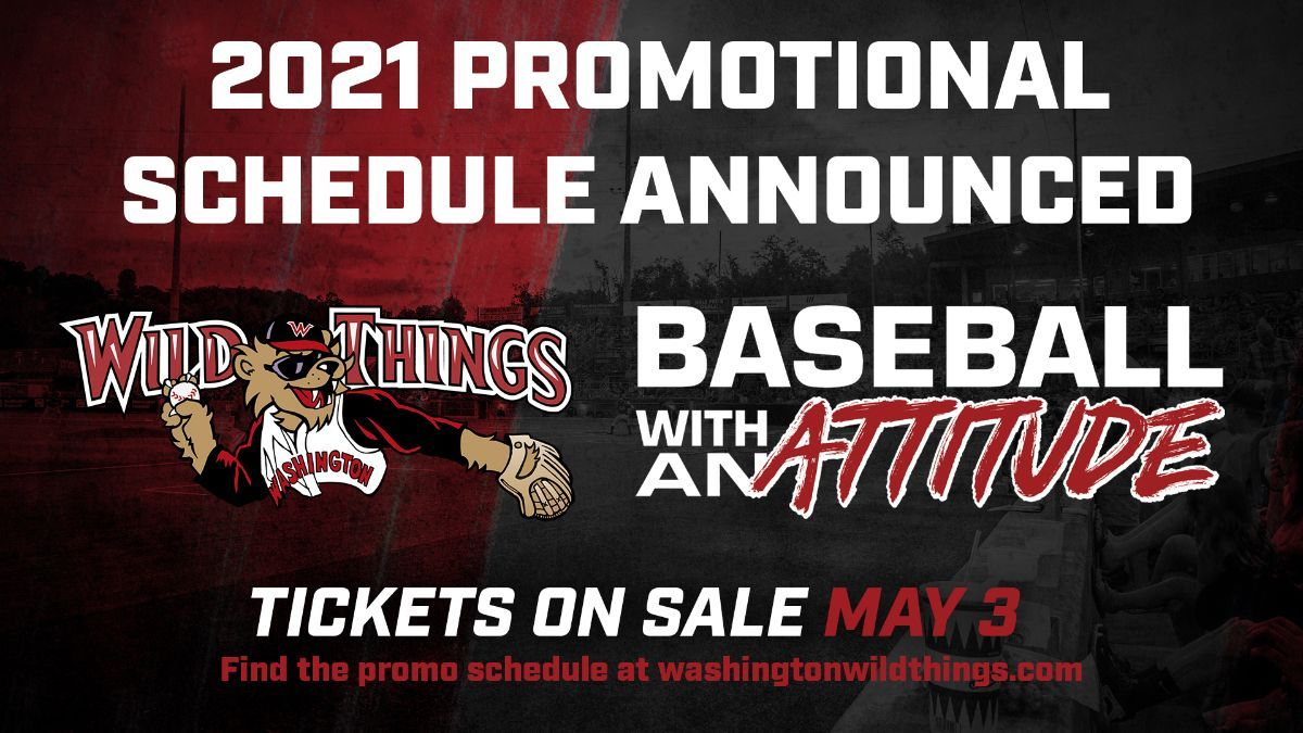 2021 Promotional Schedule Announced