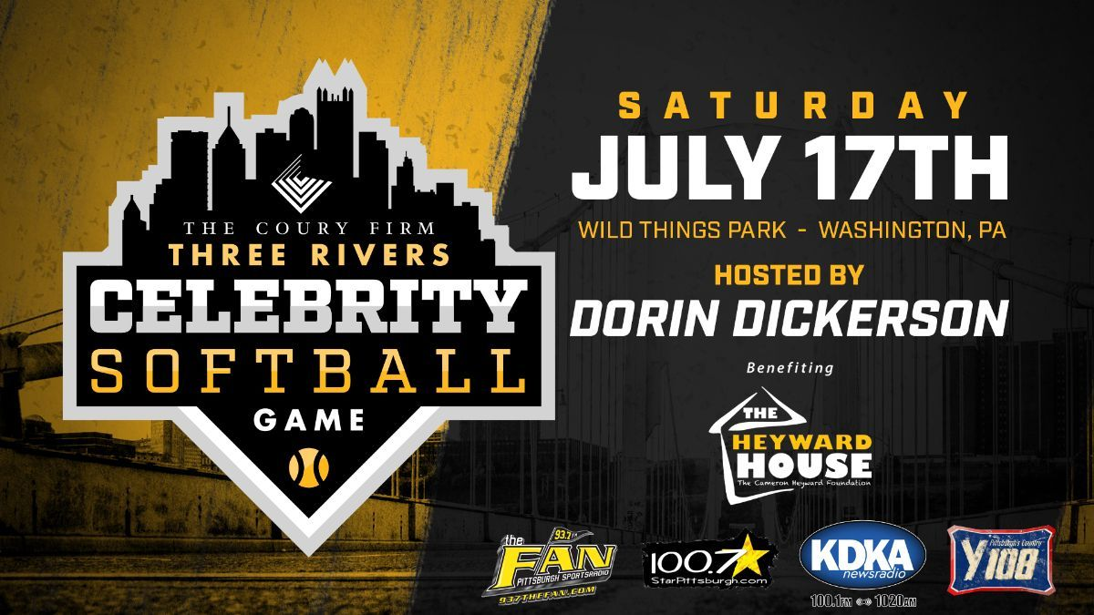 Three Rivers Celebrity Softball Game Announced