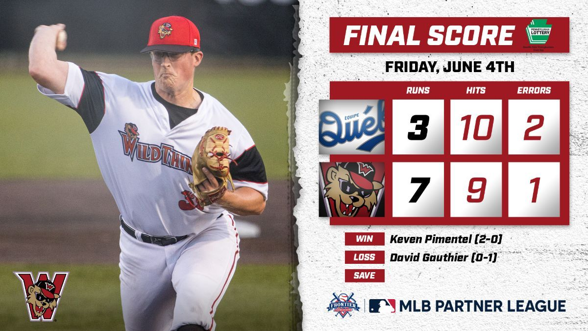 Wild Things Take Home Opener After Great Start