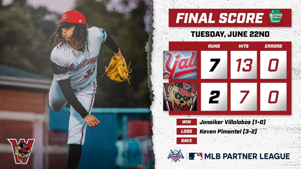 Wild Things Drop Opener to Florence