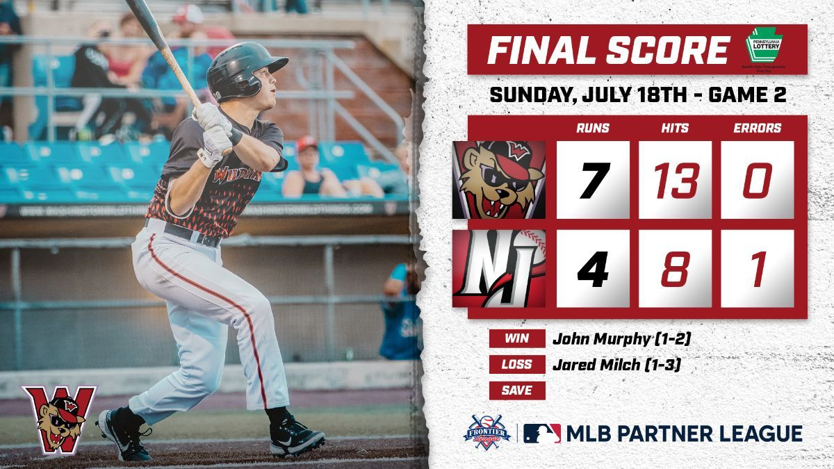 Washington Ends Road Trip With Sweep of Jackals