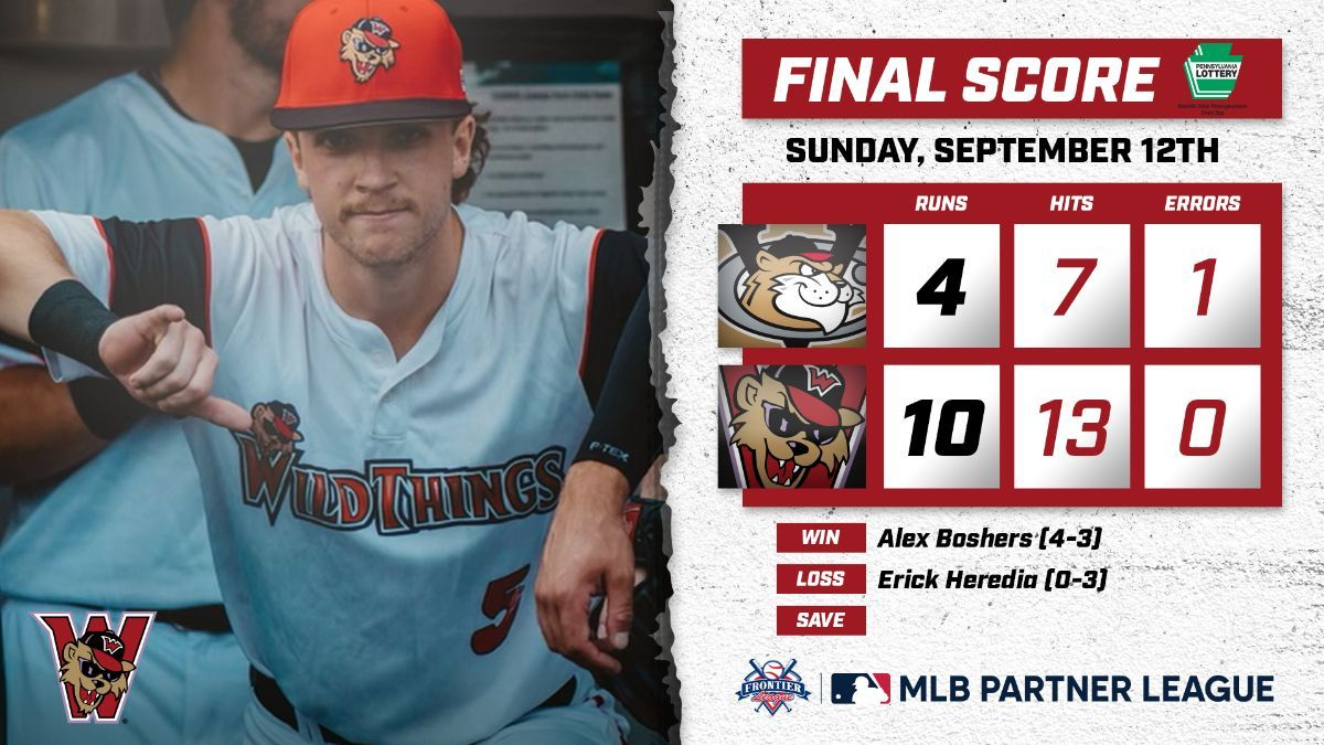 Wild Things Round Out Regular Season With Win