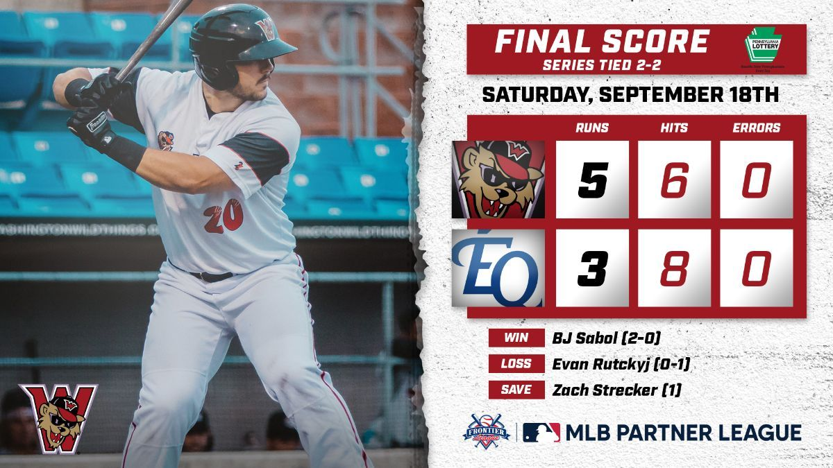 Wild Things Force FLDS Game 5 With Late-Inning Heroics