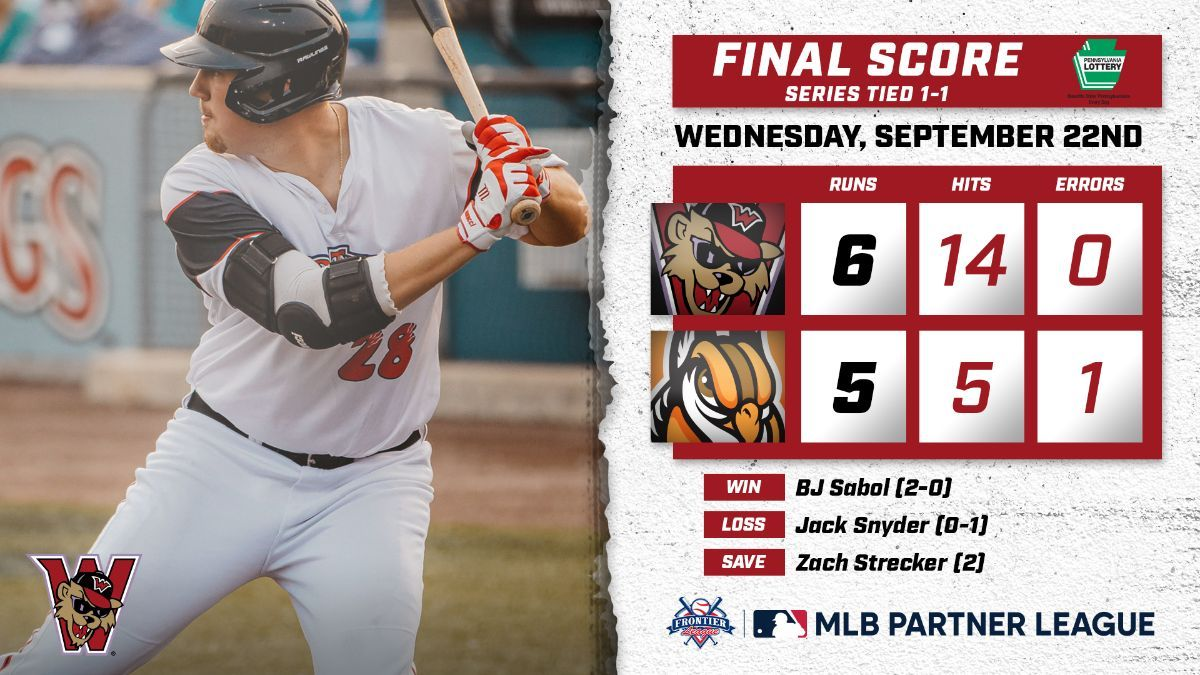 Czech's 9th-Inning HR Lifts Wild Things to Victory, Series Even