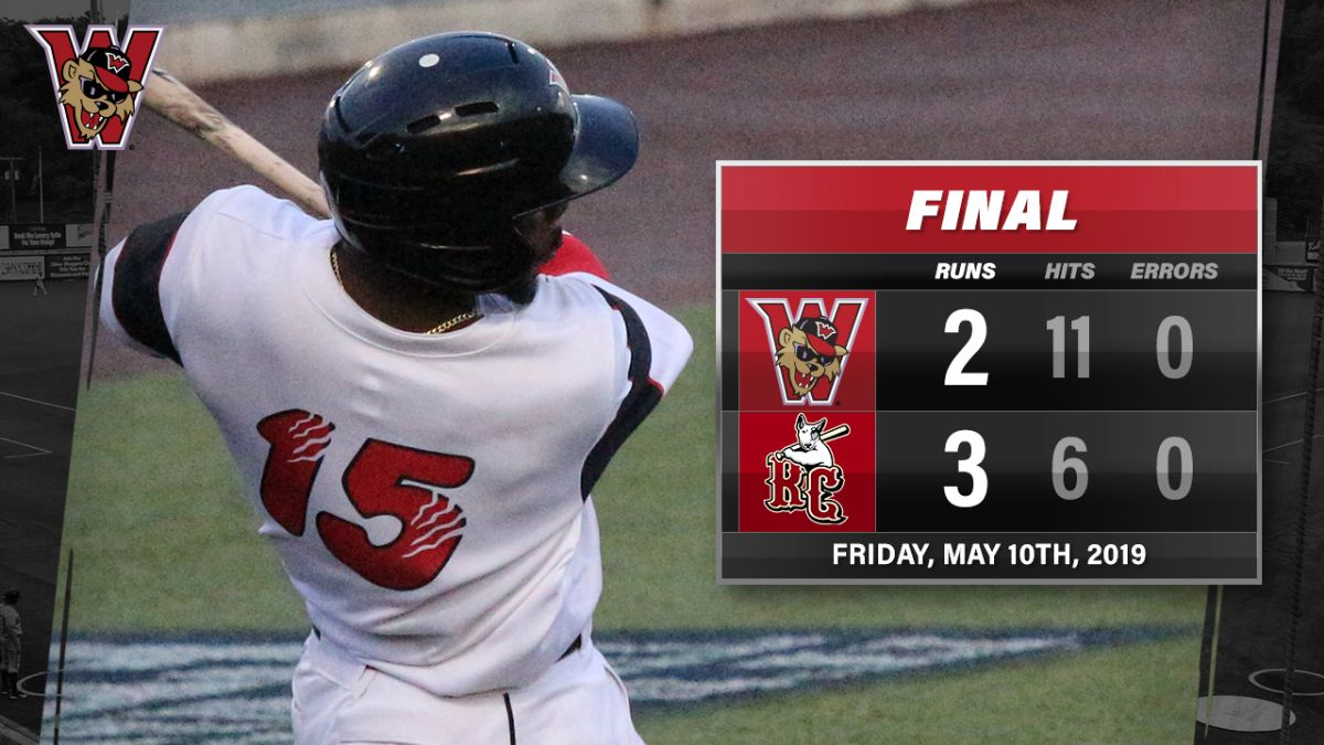 Wild Things Drop 2nd Game in River City, 3-2
