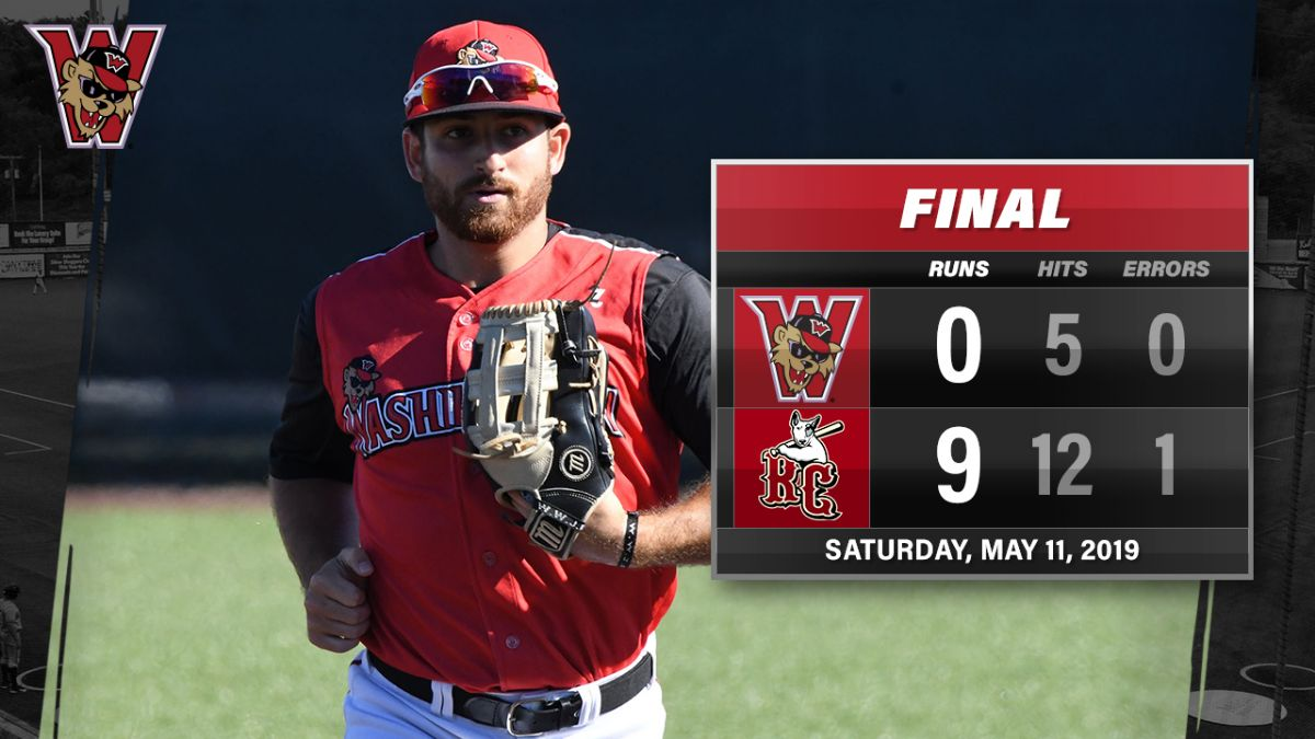 Blake Adams Collects Two Hits in 9-0 Loss to River City