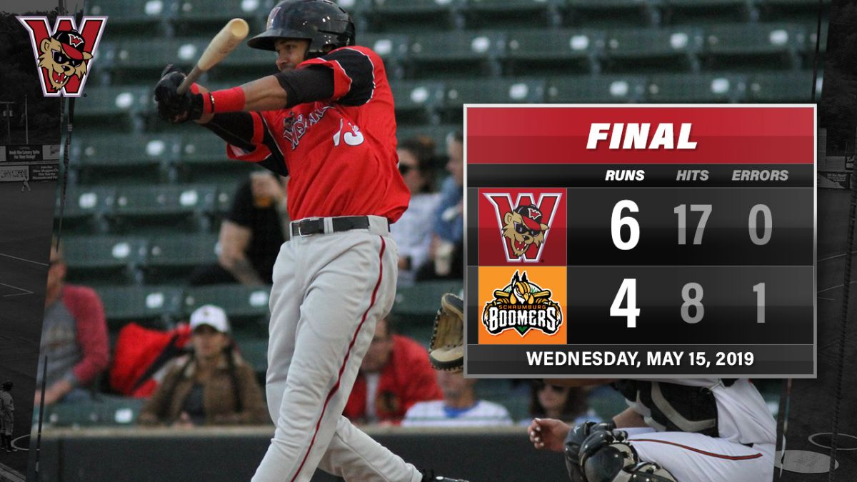 Washington Pounds Out 17 Hits in Series-Evening Victory