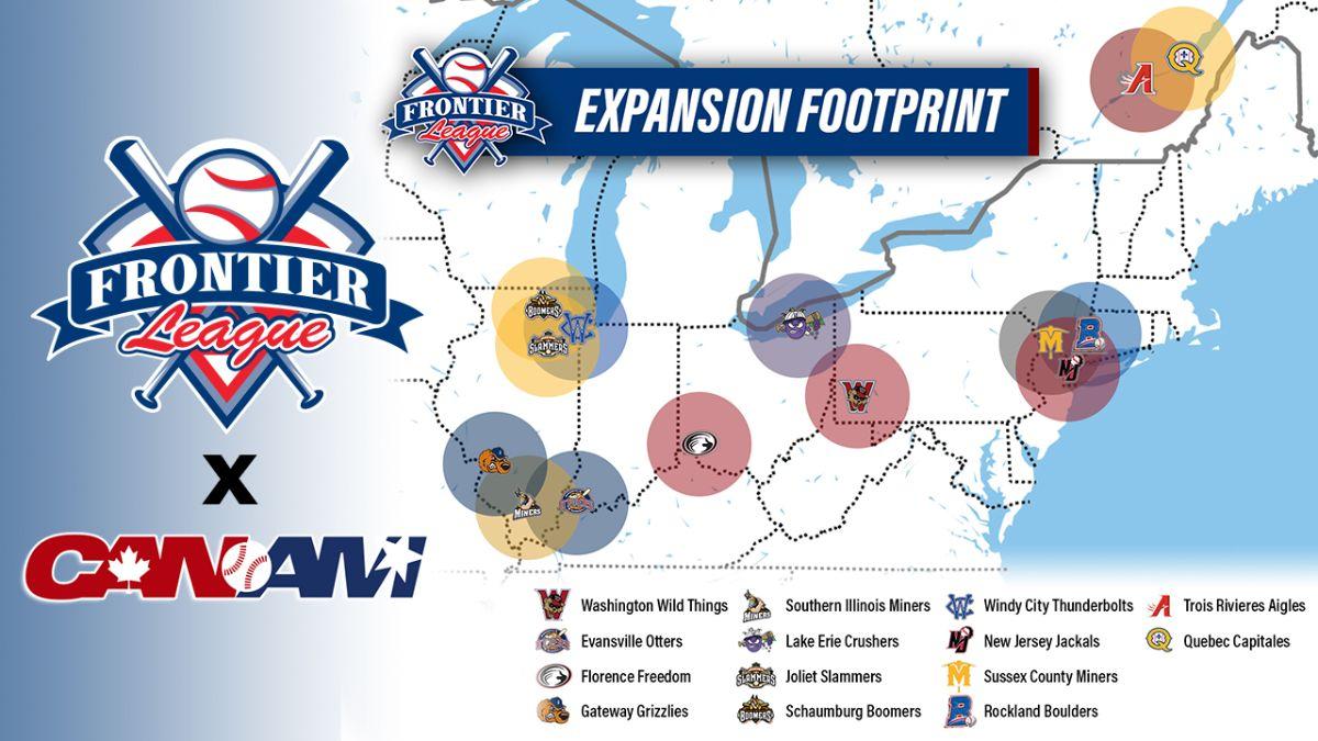 Frontier League & Can-Am League Announce Merger